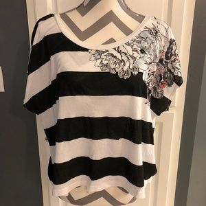 Urban Outfittters oversized striped t-shirt